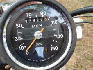 Classic 1972 Triumph Bonneville One Owner Low Miles