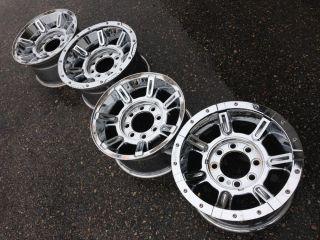 "17"" Hummer H2 SUT Factory Stock Chrome MC2 Beadlock Wheels Rims 8x165"