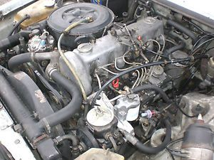 Mercedes Benz 300D 617 Engine and Auto Transmission Complete 123K Diesel WVO