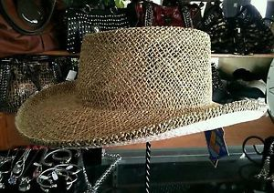 3f45044f Special Buy Scala Pro Twisted Seagrass Straw Gambler Hat Rayosan UPF 50 s M