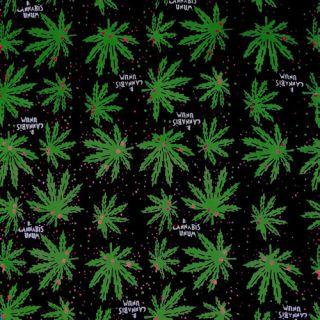 Marijuana Cannabis Leaf Pot Weed Chronic Ganja Bud 420 Bandana Bandanna