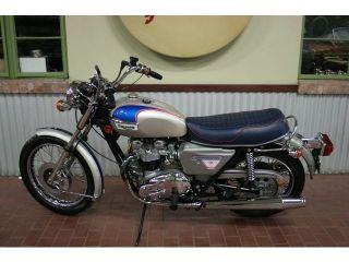 1977 Triumph Bonneville Silver Jubilee Only 6650 Miles Amazing Collectors Bike