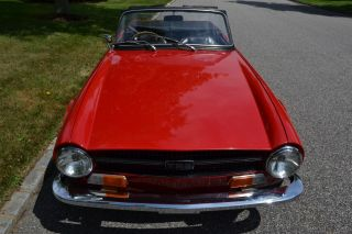 1970 Triumph TR6 with Very RARE Fuel Injection