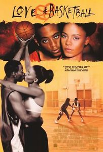 Love and Basketball Movie Poster C 27x40 Omar Epps Sanaa Lathan Alfre Woodard