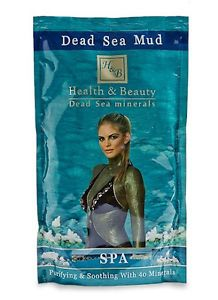 Health Beauty Dead Sea 40 Natural Minerals Black Mud Skin Care Body Spa 600G
