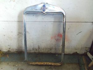 Vintage 1930's Chevy Coupe Radiator Shroud Rat Rod Hot Rod