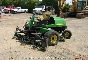 John Deere 3215B Diesel Riding Fairway Mower Lawn for Parts or Repair