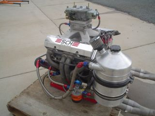 Chevy Racing Engine 18 Degree Heads Small Block Chev Drag