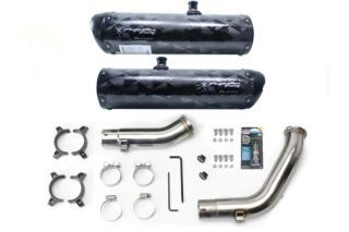 Two Brothers Dual BS M 2 Carbon Fiber Slip on Exhaust 2009 2013 Yamaha R1