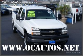 2007 Chevy 2500 Duramax Diesel 4x4 LBZ One Owner Loaded