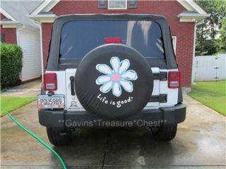 03 Rav 4 Rav4 White Hard Spare Tire Cover 16 Wheel