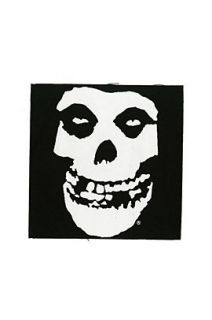 Misfits Fiend Skull Back Patch