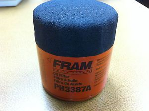 Fram Extra Guard Oil Filter Part PH3387A 6 Pack of Filters