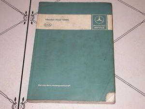023 1984 Mercedes Benz Cars 107 123 126 201 Engines 102 116 117 601