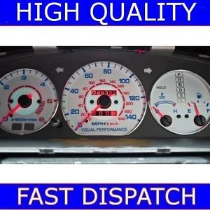 Mazda Bongo MX 6 MX6 626 Cronos Chrome Dial Gauge Rings
