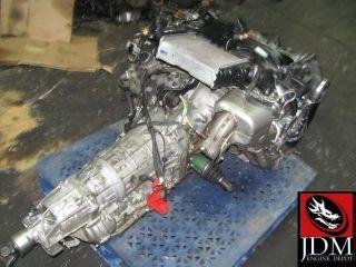 07 12 Subaru Legacy 2 0L DOHC Dual VVT Turbo Engine Transmission JDM EJ20X