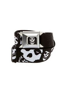 Misfits Fiend Skull Seat Belt Belt