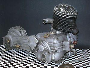 1955 Innocenti Lambretta LD150 Mark II Engine Motor Transmission LD 150 125 MK2