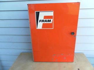 Fram Oil Filter Parts Company Muscle Car Cabinet Gas Station Sign ...