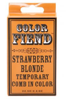 Color Fiend Strawberry Blonde Temporary Comb In Color