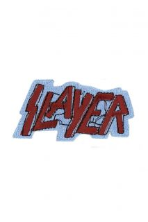 Slayer Logo Iron On Embroidered Patch