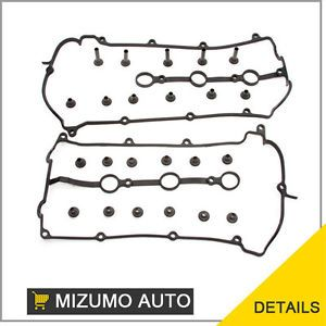 93 02 Ford Probe Mazda MX6 626 1 8L 2 5L V6 DOHC KL Valve Cover Gakset Set