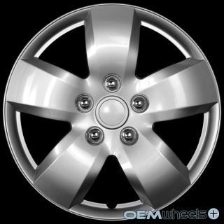 "4 New Silver 16"" Hub Caps Fits Ford SUV Minivan Car Center Wheel Covers Set"
