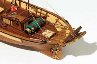 Occre Palamos Fishing Boat SHIP Wood Model Kit New