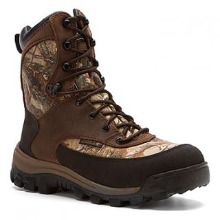 "Rocky 4754 Core 8"" Realtree AP WP Boot  Men's   Brown Leather/Camo Textile"