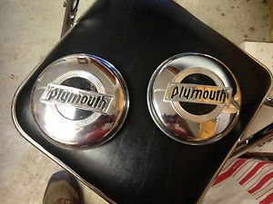 1932 Plymouth PB Hubcaps  1933 1934