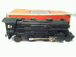 Lionel Trains 1130 Black Steam Locomotive Train Engine with Original Box