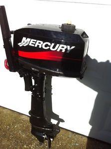 5 HP Mercury Outboard Motor 2 Stroke