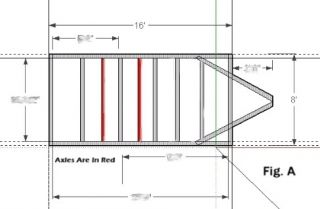 1 Trailer Plans 8x16 Low Deck Tandem Utility Trailer Plans Instructions Save $