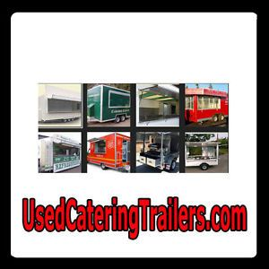 Used Catering Trailers com Web Domain for Sale Food Truck Concession Used Market