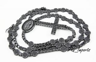 Black Iced Out Chain
