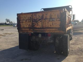 GMC Topkick Dump Truck Cat 3116 Diesel Engine 1 Owner Low Miles