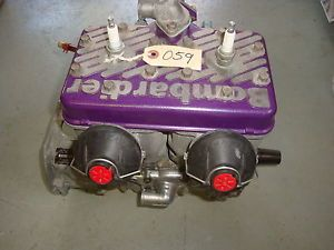 Ski Doo Rotax 670 HO Engine Long Block 98 Summit x MXZ Formula Z Cylinder Head