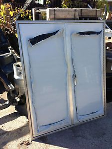 Commercial Ford Chevy Dodge Truck Bed Box Double Rear Entry Door Utility Work