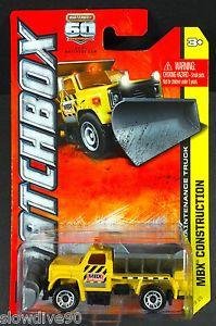 Matchbox Highway Maintenance Truck