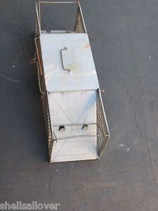 Vintage Havahart 2 Door Small Animal Cage Trap Squirrel Rabbit Skunk 24x7x7