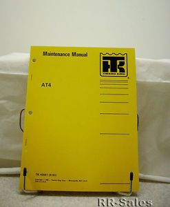 Thermo King Bus Air Conditioning AT4 Maintenance Manual