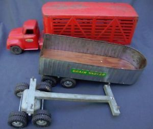 Vintage Tonka Toy Trucks