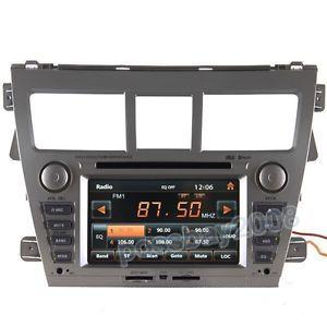 2007 10 Toyota Yaris Sedan Car GPS Navigation Bluetooth iPod Radio TV DVD Player