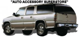 00 06 Chevy Suburban Full Flared Running Boards with Molded Fender Flares