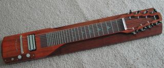 Lap Steel Guitar Slide Guitar 8 String Georgeboards Koa Veneer Kit Alumitone