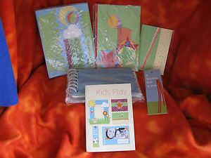 Kids Play Craft Kit Make Book Mark Album Cards Picture Frames Phone Book