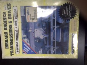 Intertec Inboard Engines Transmissions Drives Service Manual 3rd Edition New