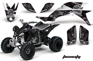 AMR Racing ATV Graphic Off Road Decal Quad Sticker Kit Yamaha YFZ 450 04 08 TWK