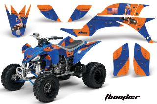 AMR Racing ATV Graphic Wrap Off Road Decal Sticker Kit Yamaha YFZ 450 04 08 Tbuo