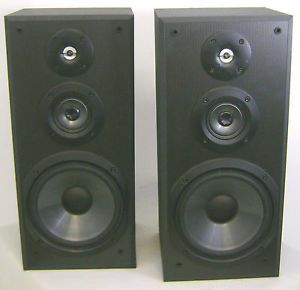 2 Sony SS MB300H 3 Way Bookshelf Speakers